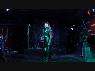 K-pop halloween masquerade - costume defile - devil