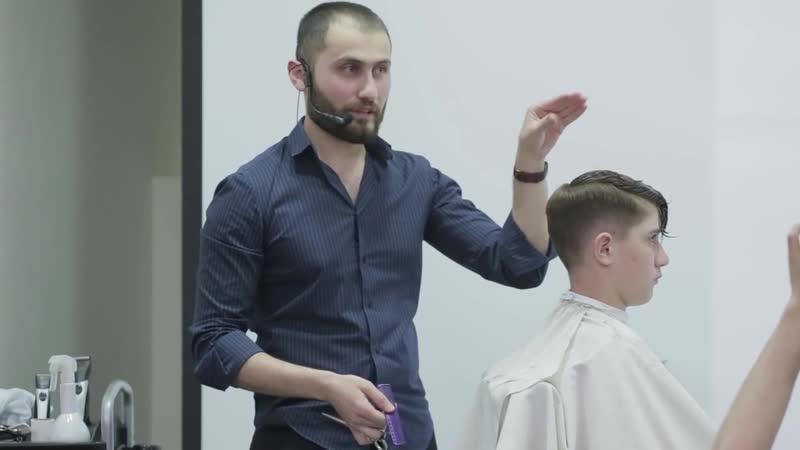 Обучение Парикмахеров. Как научиться делать тушевку. Влад Гарамов