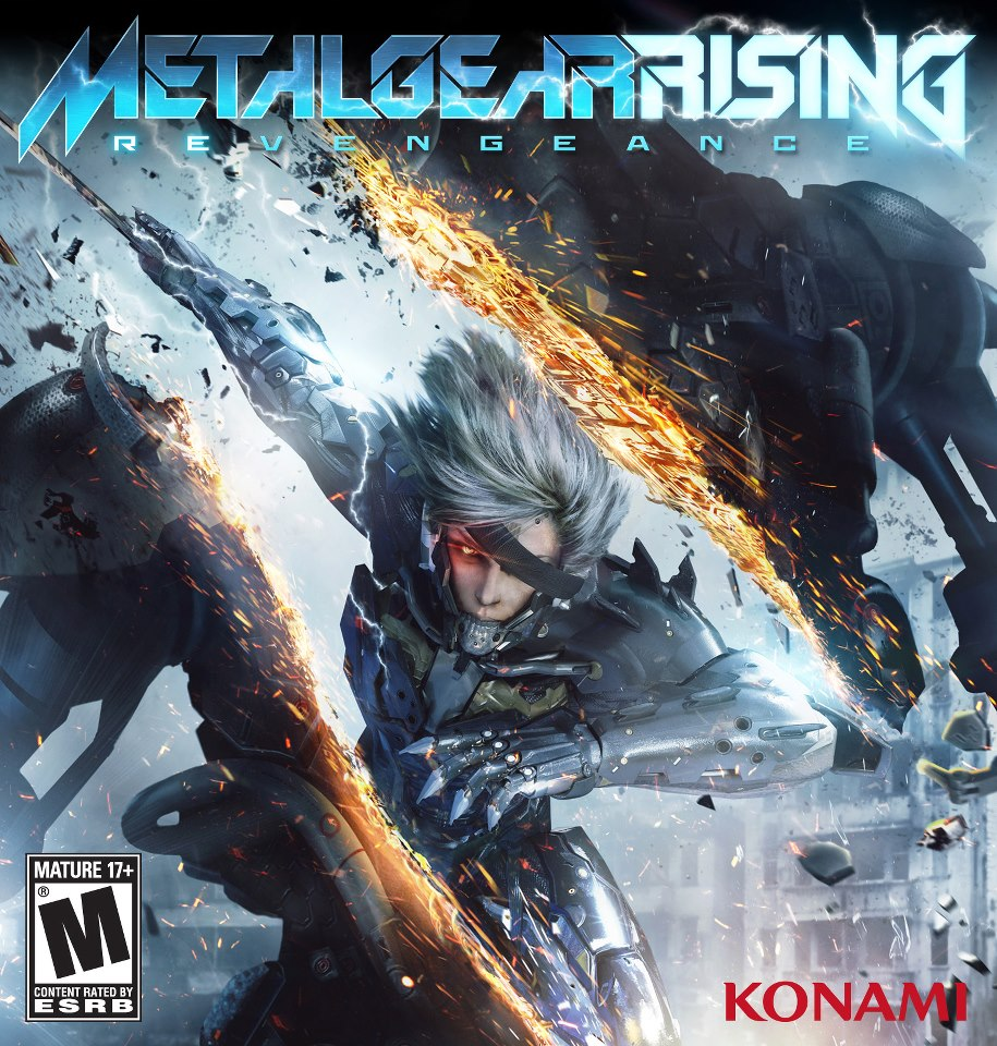 Metal Gear Rising: Revengeance logo, coverart, логотип, картинка