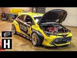 Hoonigan: 1000- сильная заднеприводная Дрифтовая Toyota Corolla Фредрика Аасбо [BMIRussian]