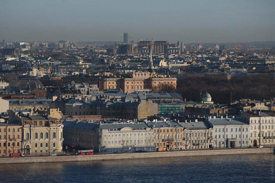 Видовая крыша в Санкт-Петербурге прогулки по крышам