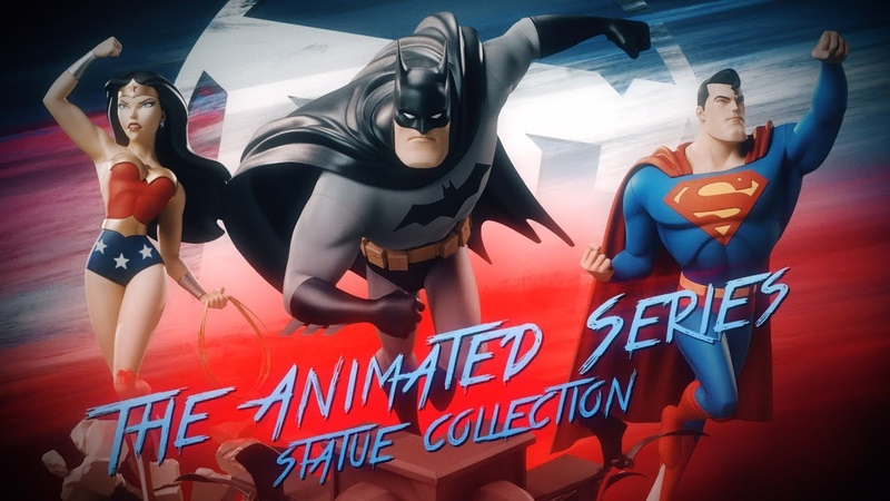 Inside Look: DC The Animated Series Statue Collection