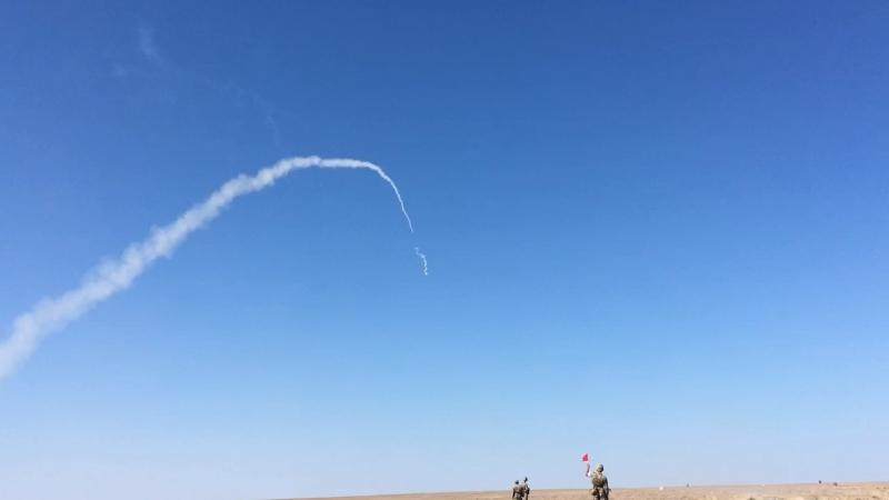 Первый выстрел из ПЗРК
