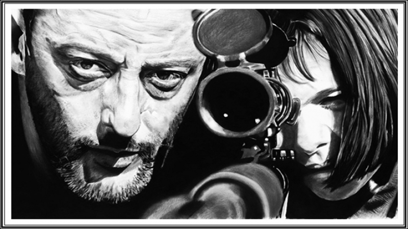 Music video movie Leon the Professional Shape of my heart by Sting