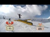 S.K.A.T.E. on Snow  Gus Kenworthy VS Henrik Harlaut - Final - Vars Tournament