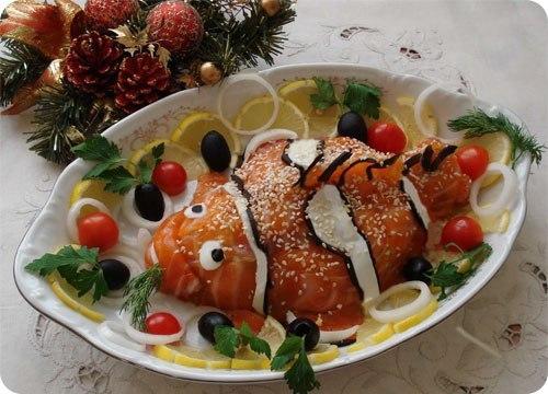 Вкусные и красивые блюда для нового года