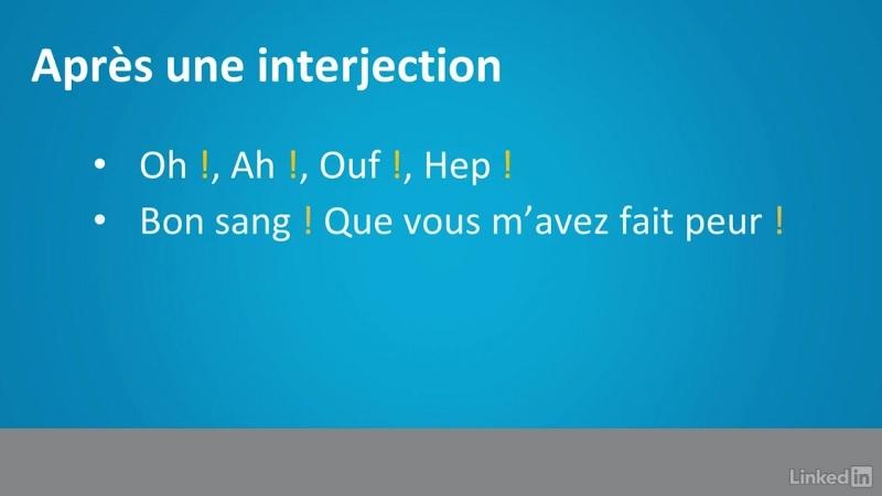 06 - Étudier la fonction du point d'exclamation