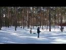 08 03 2018 Настя на тюбинге снизу mp4