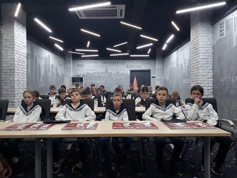 Генерал-лейтенант Шилов Павел Сергеевич провел урок мужества для воспитанников ялтинского «Детского морского центра»