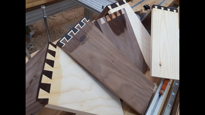 [Inlay(숨은)주먹장] wood ro leehyun DIY 공방/목공기계 Amazing Machine wood make