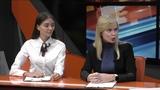 Элеонора Кавшар и победительница конкурса грантов Губернатора Ольга Шалыгина в студии СЭТ-ТВ