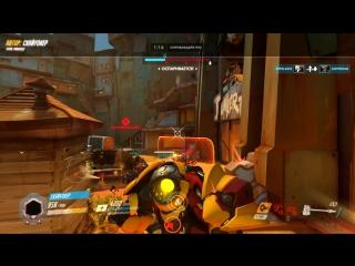Overwatch - Когда упал и лень вставать