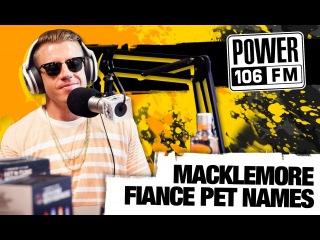 Macklemore Power 106 FM