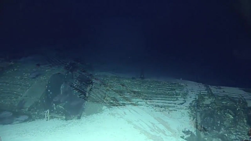 NOAAs Deep Water Mission Spots B 29 Bomber Wreckage From WWII