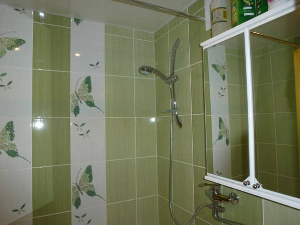 Дизайн плитки ванной комнаты фото в панельном доме