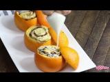 Булочки запечёные в апельсинах (Рецепт готовим с Гением Кулинарии)