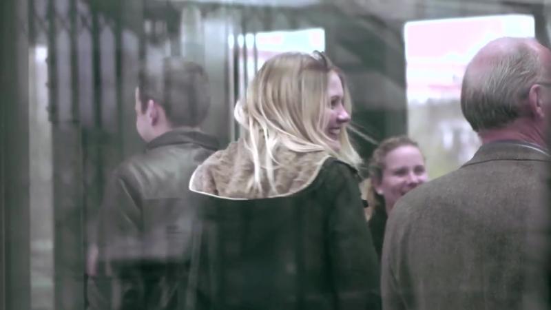 Flash mob in the Copenhagen Metro. Copenhagen Phil playing Peer Gynt.