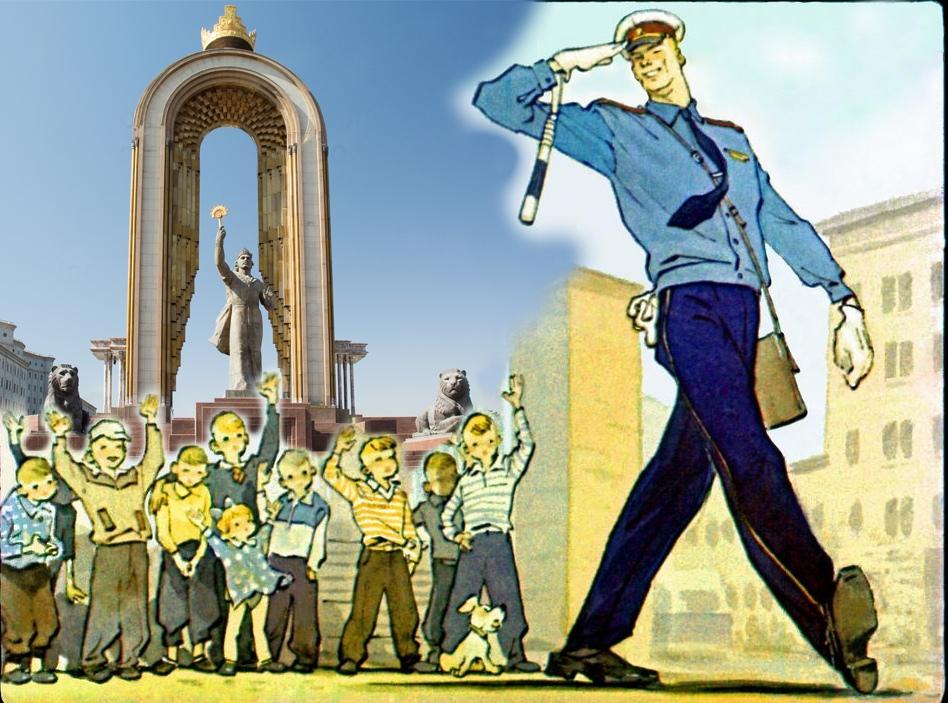 В Таджикистане милиционеров обязали ходить в библиотеки и сдавать тесты по прочитанному