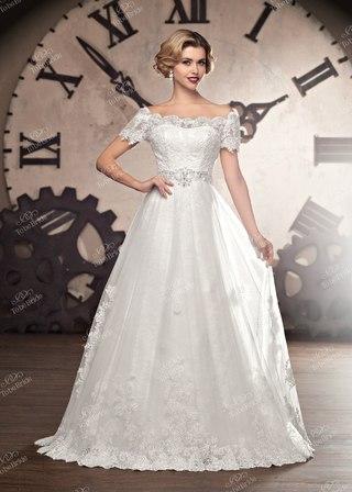 Пышное Платье Со Шлейфом Свадебное Купить