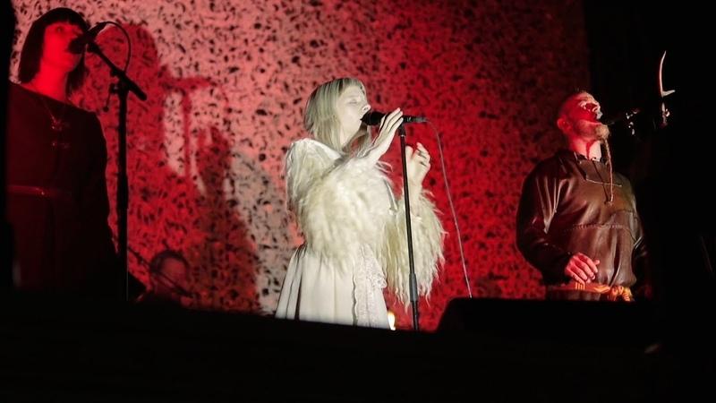 Wardruna and Aurora - Helvegen (Live)