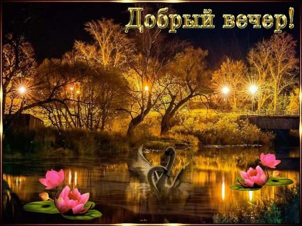 В этот замечательный вечер хочется пожелать Вам продолжать радовать иукрашать мир, приносить тепло ирадость своим существованием!)