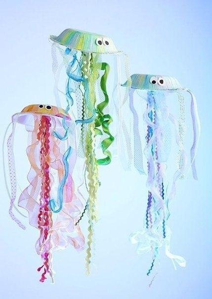 Медузы своими руками