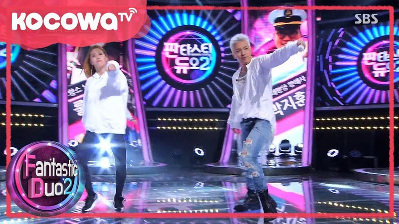 [Fantastic Duo2] Ep23_Taeyang (Big Bang) and 'Incheon's Sexy Abs Queen' Ringa Ringa Dance off