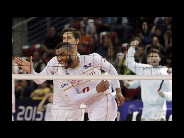 Earvin N'Gapeth: Crazy Unbelievable Volleyball Sets 2016 |HD|