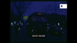 1960s Naples at Night, Traffic, Italy, 35mm