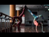 Алиса Доценко и Алена Двойченкова в танцевальном баттле по вог