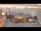 Самая страшная и ужасная  авария в России! пристегивайтесь ремнем  УЖАС!!!