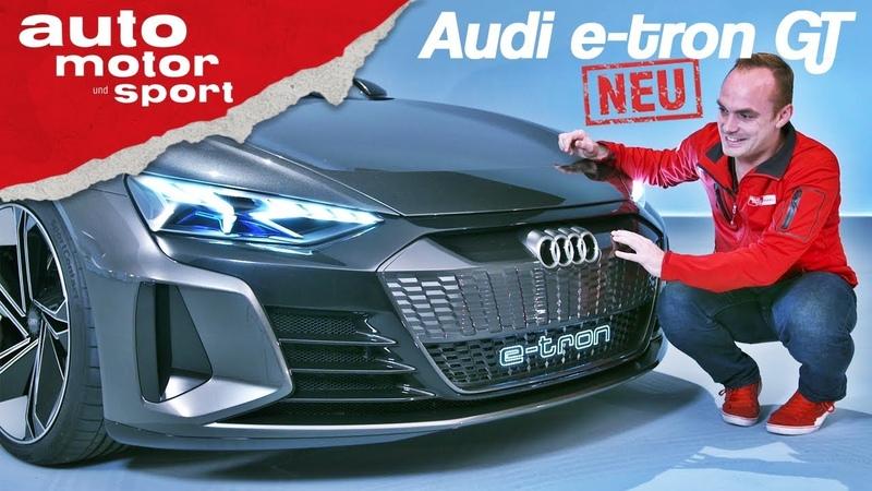 Audi e-tron GT Erste Sitzprobe im neuen E-Quattro - Neuvorstellung (Review) | auto motor und sport
