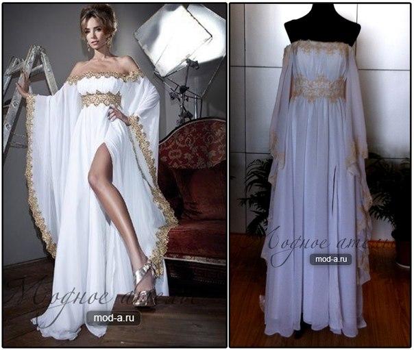 Гречанка свадебное платье