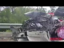 Сильная авария с погибшими на федеральной трассе Амур