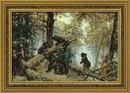 Набор для вышивания 536 Утро в сосновом лесу, РИОЛИС.