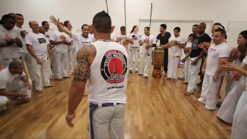 8th Capoeira Muzenza London Event-Bombril Magrela