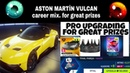 Asphalt 9 Aston Martin Vulcan Pro Upgrading and Career Mix for Great Prizes