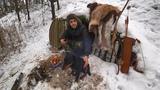 Выживание В Домике Хоббита Месяц спустя Охота с лука Шашлык из фазана