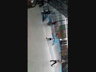 Ramses's a new skate trick - switch fs heelflip 19.11.2018