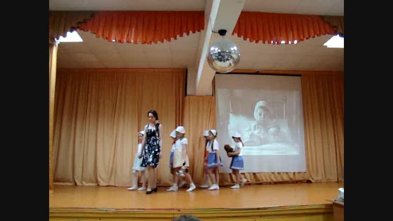 Белые панамки танец посвященный блокадному Ленинграду