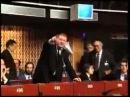 Жириновский на Совете Европы. 1999 год. АРХИВ