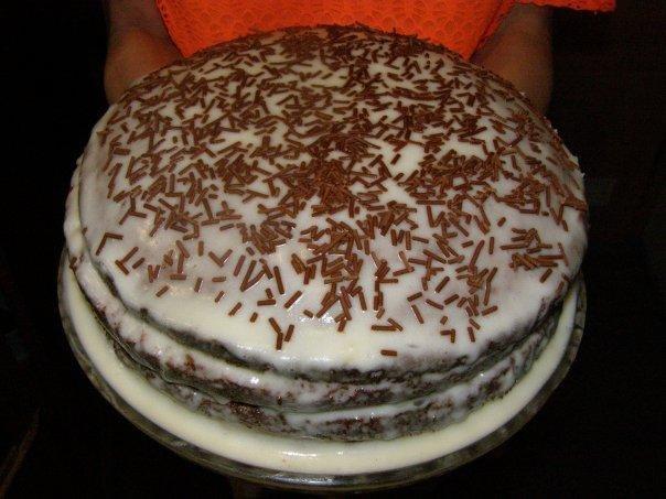 Торт день-ночь рецепт с фото