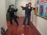 Танцевальный номер Тимоти, Леви Штерна и Алекса Муила на Crank That рэпера Soulja Boy