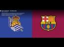 LaLiga. Real Sociedad - FC Barcelona. 15.09.2018