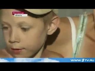 Сюжет о распятом мальчике на Первом канале