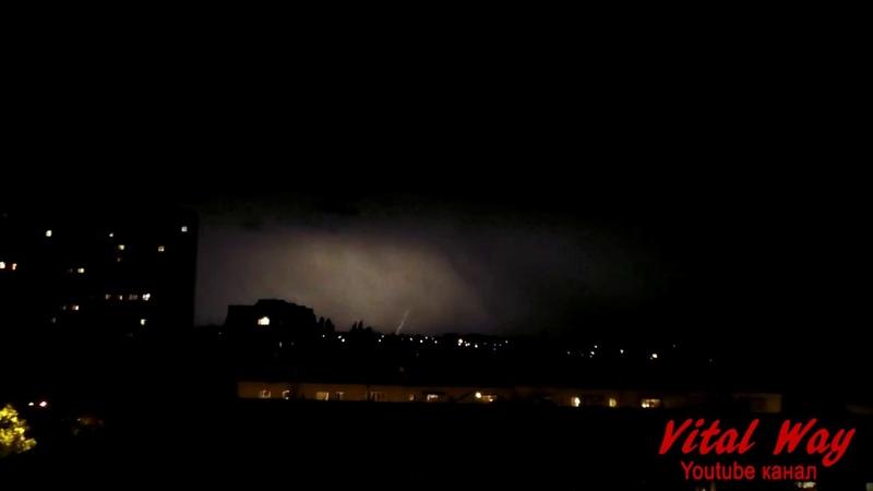 Гроза, молния - Днепропетровск, 29 июня 2018 год
