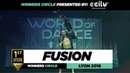Fusion I 1st Place Upper Division I Winners Circle I World of Dance Lyon 2018 I WODFR18 Danceprojectfo