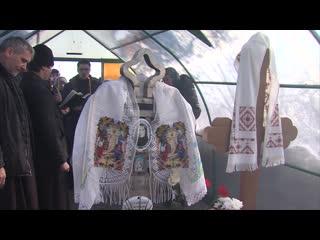Владыка Григорий совершил панихиду на месте погребения Евдокии Чудиновской