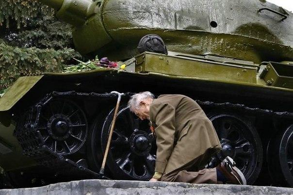 танк из