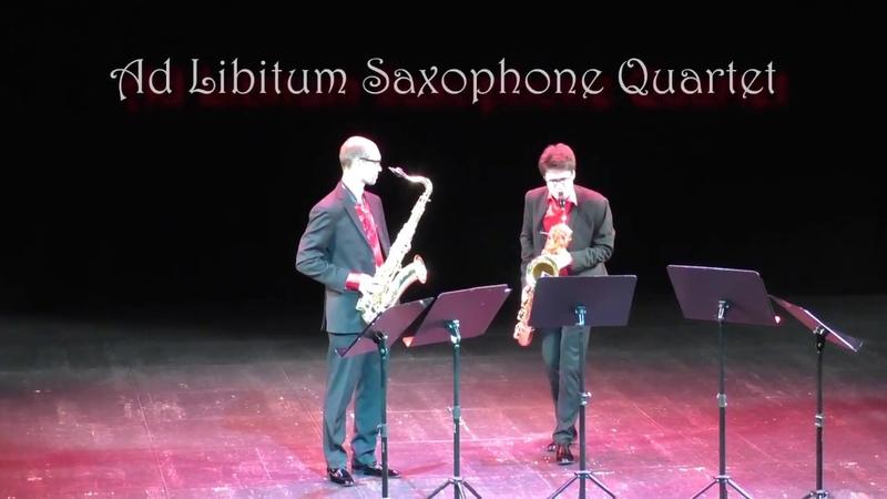 Ad Libitum Saxophone Quartet Libertango